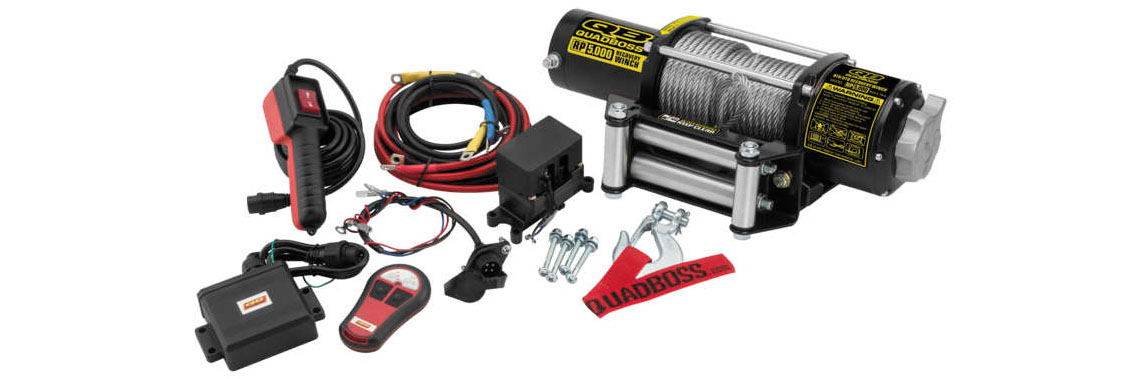 5,000 lbs. Winch Now Available