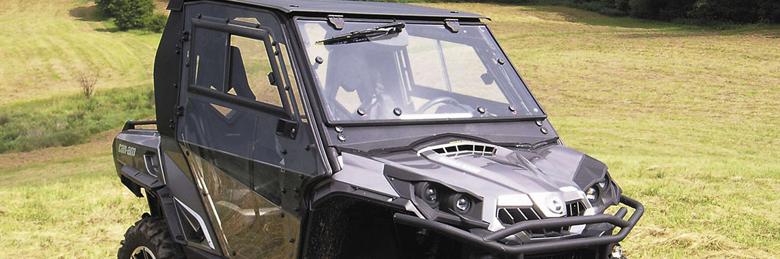 Cabs Added to Line of UTV Products