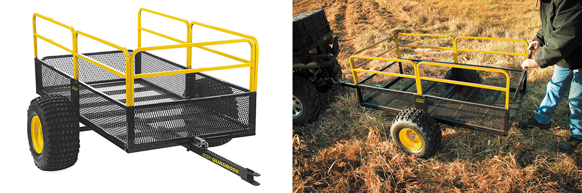 The New QuadBoss Utility Trailer Makes the Workday Easier