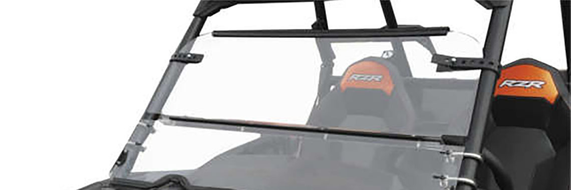 Windshields Now Available for More UTVs