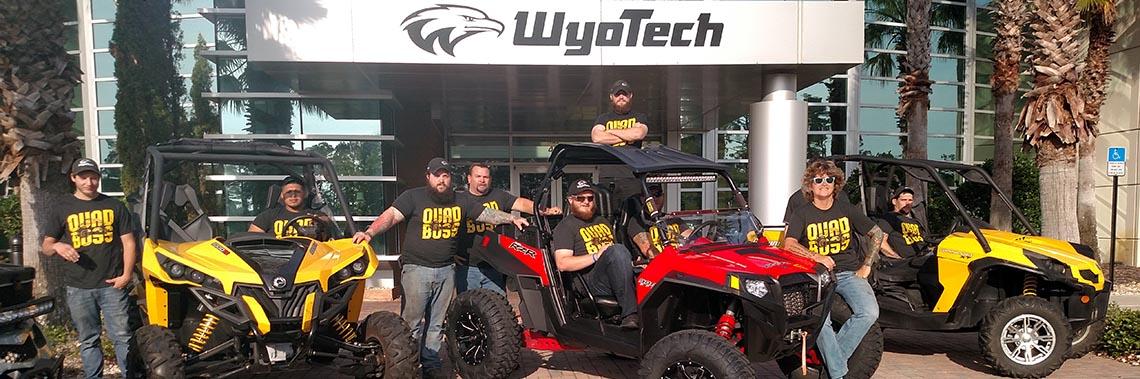 QuadBoss and WyoTech Partner for Education