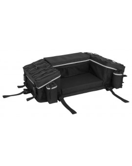 Reflective Series Rear Rack Bag with Integrated Cover