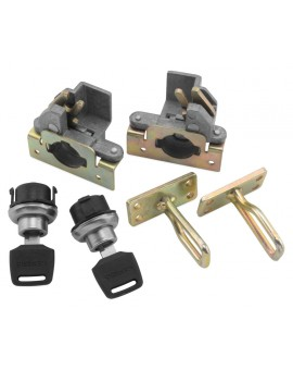 Locks for UTV Rack Rider Flashlight Holder