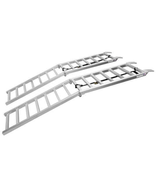 "18"" x 88"" Pair of Ramps 2400 lbs. - UTV Folding Arched Ramps"