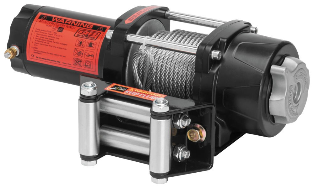 2500 lb winch w wire cable equipment products