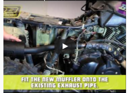 How To | Install the Muffler
