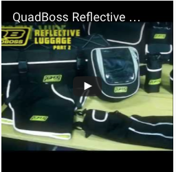QuadBoss Reflective Luggage Accessories