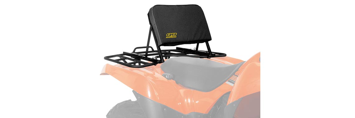 Give Your Back a Break with the New QuadBoss ATV Backrest