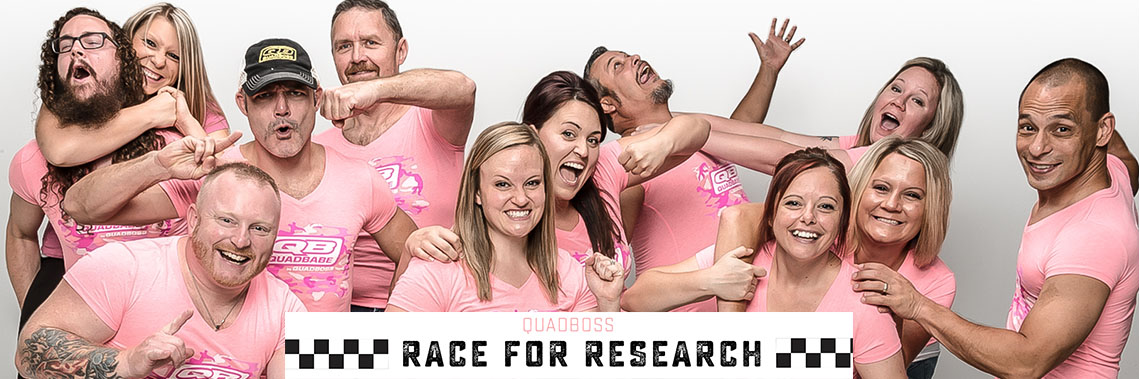 QuadBoss® Hosts 2nd Annual Race for Research