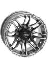 Quadboss Stryker Wheels 14x7, 4+3, 4/156