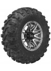 Quadboss Stryker Wheels 14x7, 5+2, 4/110