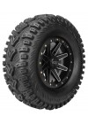 QBT448 Utility Tires 28x10-14, Bias, Front/Rear, 6 Ply, Directional