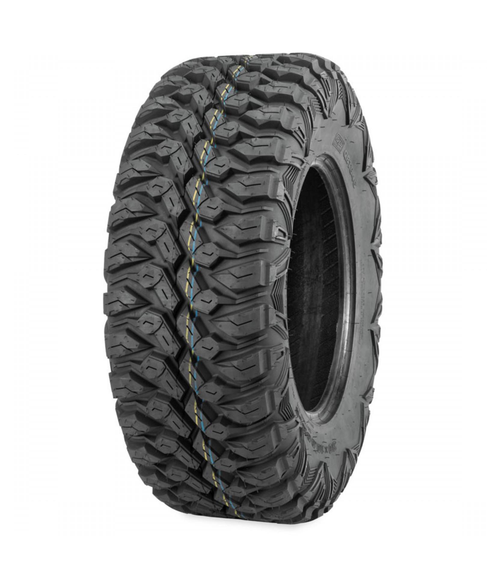 8ply 27x9-12 Pair of QuadBoss QBT446 Radial ATV Tires 2