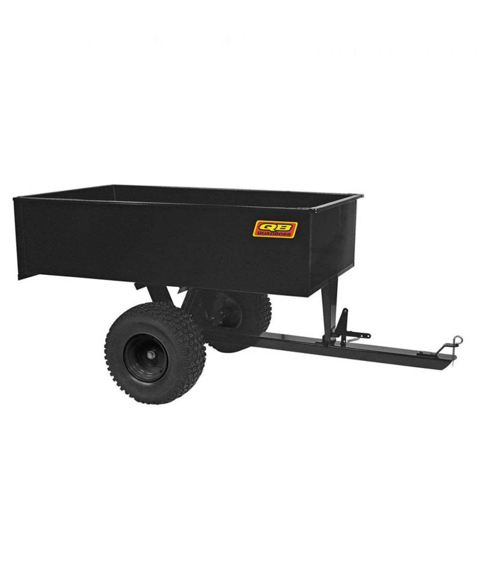Heavy Duty Tractor Trailer : Large heavy duty dump trailer trailers carts