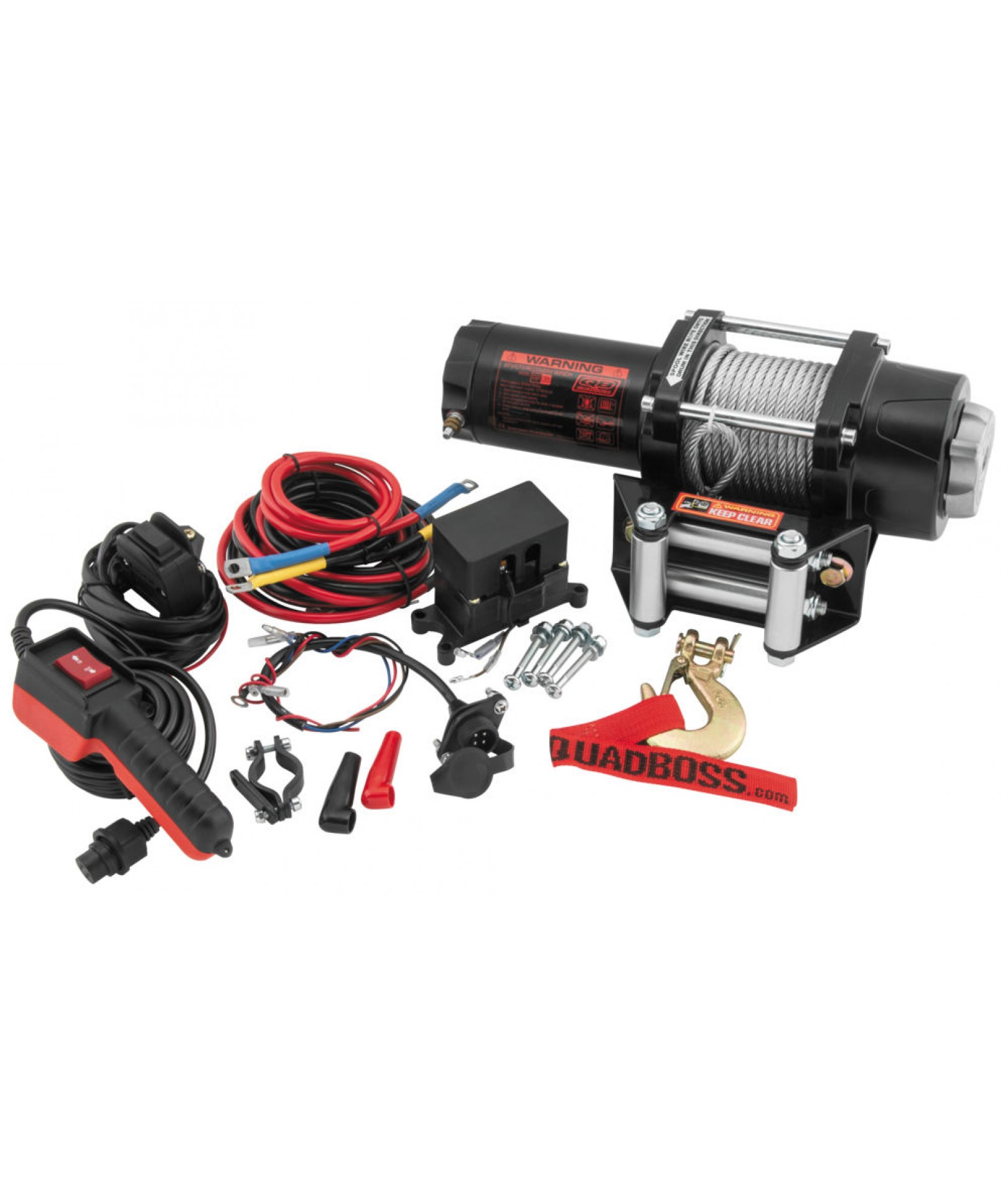 3500 Lb Winch W Wire Cable Winch Equipment Products