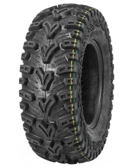 QuadBoss QBT448 Utility Tires 25x8-12, Bias, Front/Rear, 6 Ply, Directional