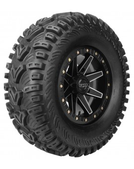 QuadBoss QBT448 Utility Tires 26x11-12, Bias, Front/Rear, 6 Ply, Directional