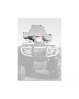 Universal Quick-Release Windshield With Headlight Cutout