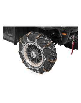V-Bar Tire Chain - Fits: 21x10x8, 22x11x9, 22x10x10