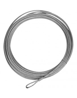 "Wire Cable, 39' X 3/16"" (2500 lb. Winch)"