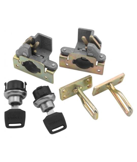 Locks for UTV Rack Rider Flashlight Holder