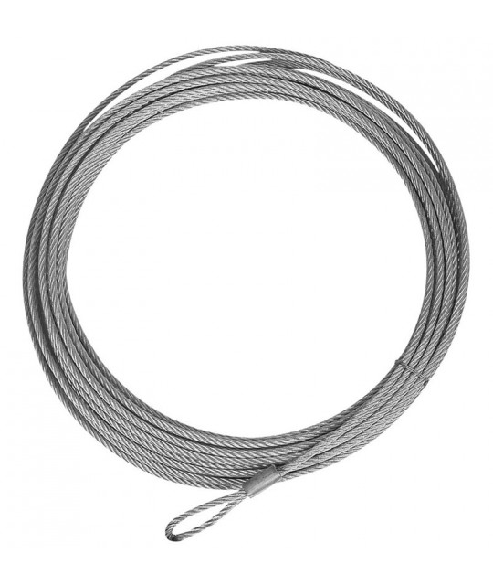 """QB Wire Cable, 39' X 7/32"""" (3500 lb. Winch)"""