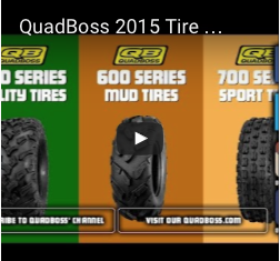 QuadBoss 2015 Tire Lineup