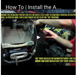 How To | Install the ATV/UTV Winch