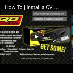How To | Install a CV Boot Rapid Repair Kit