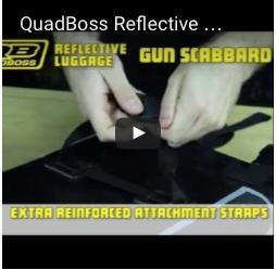 QuadBoss Reflective UTV Gun Scabbard