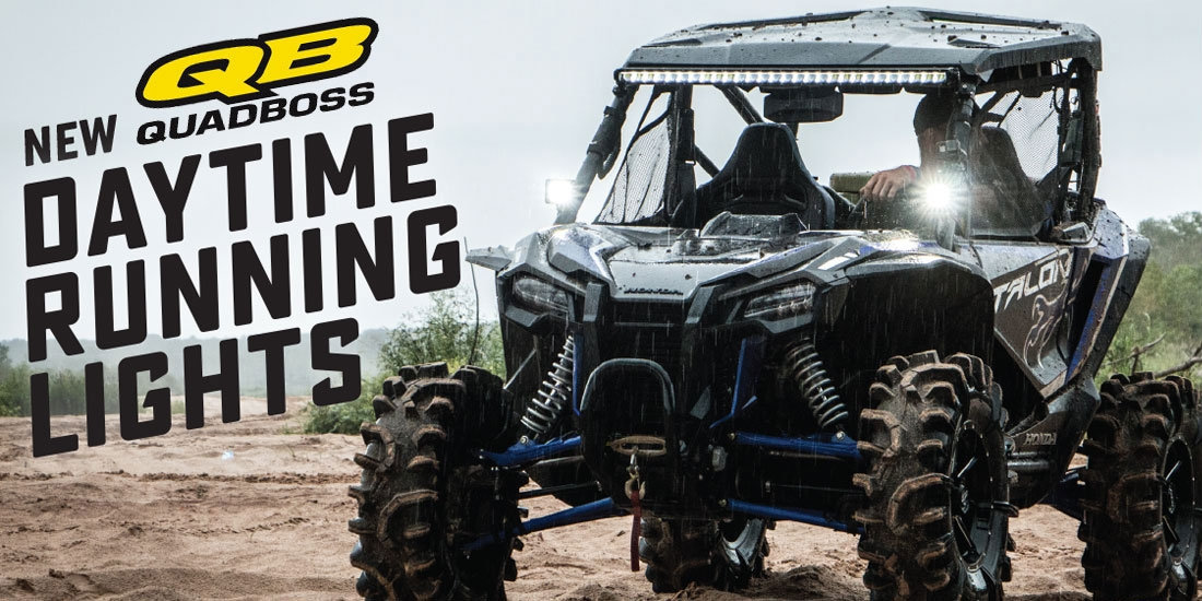 QuadBoss Daytime Running Lights (DRL) for UTVs