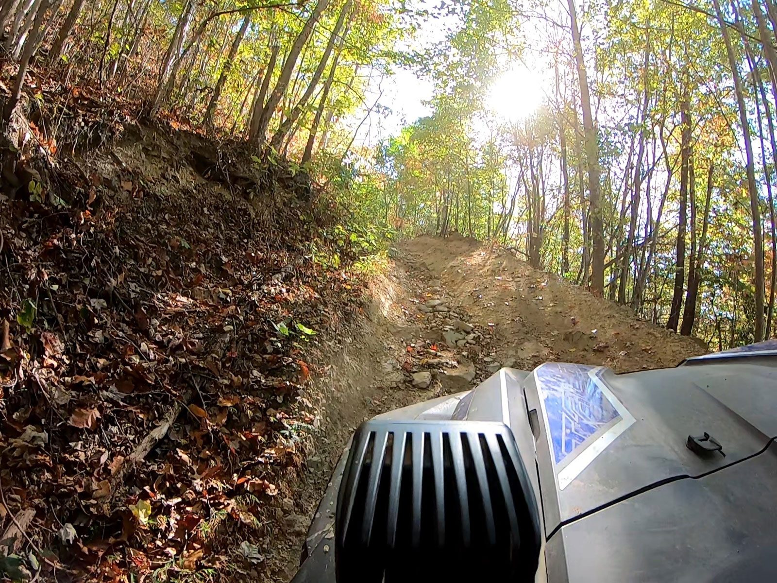 QuadBoss On the Trail at Hatfield McCoy National Trailfest