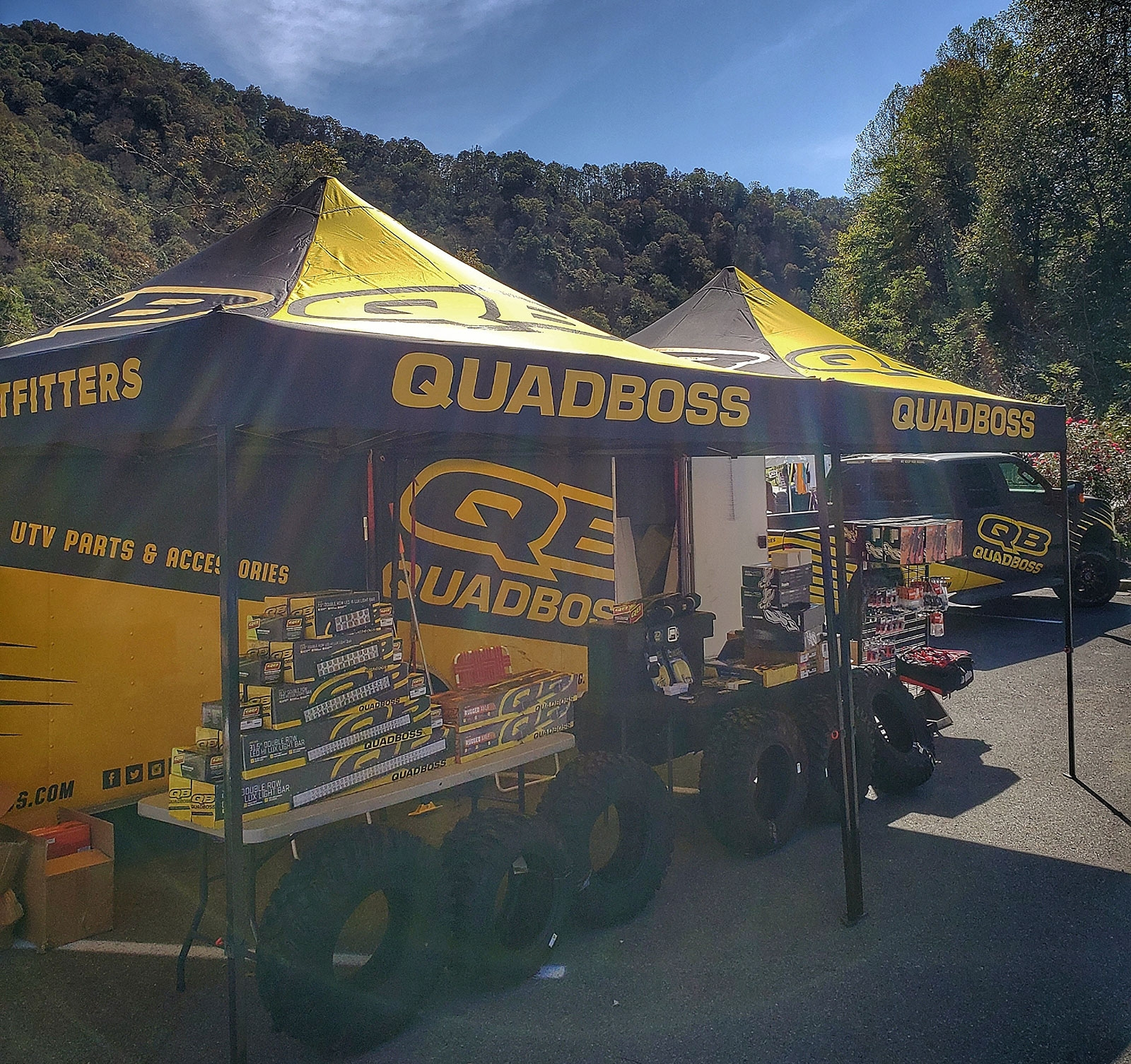 QuadBoss Display at Hatfield McCoy National Trailfest