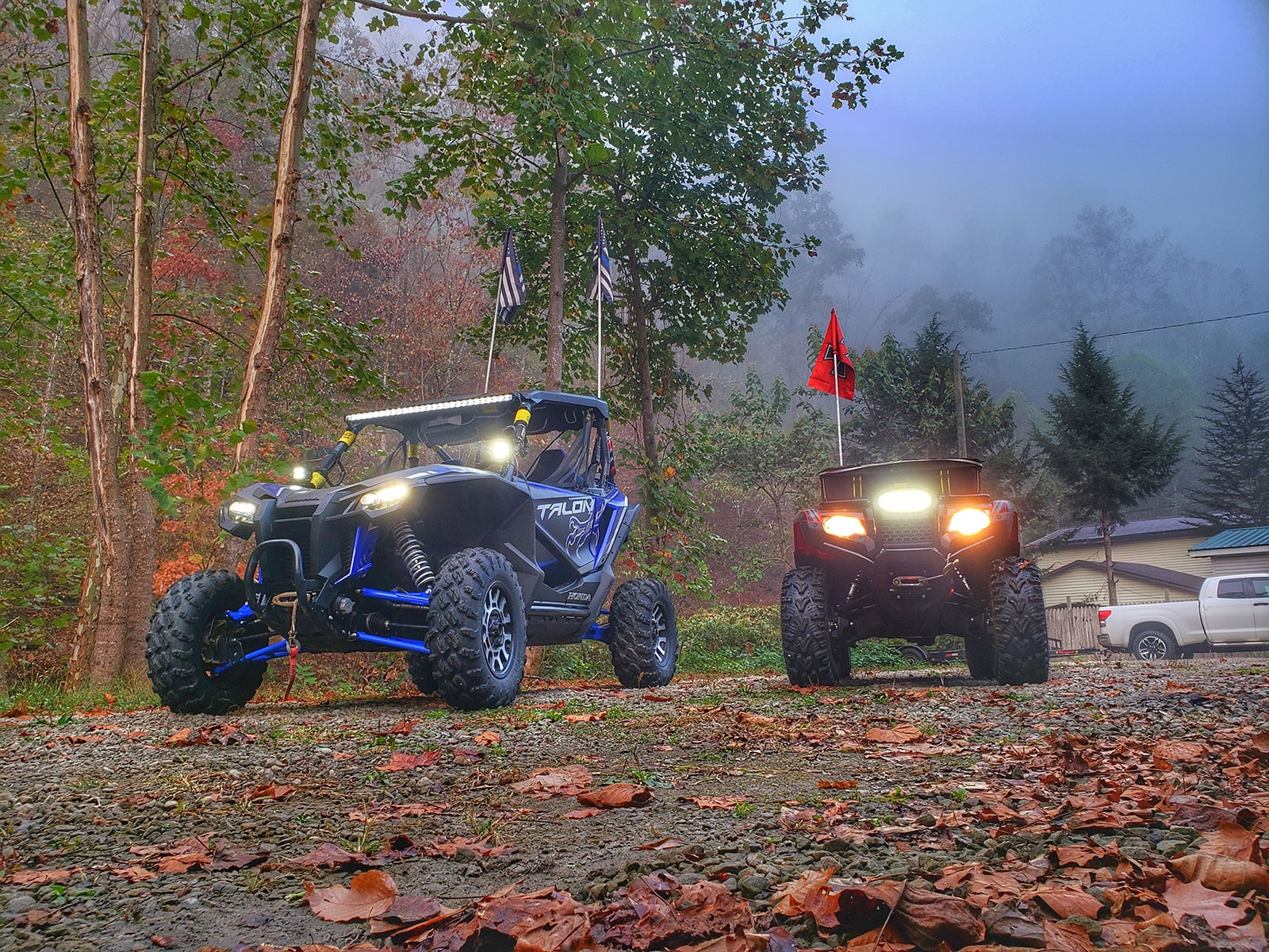 QuadBoss Out on the Trail at Hatfield McCoy National Trailfest