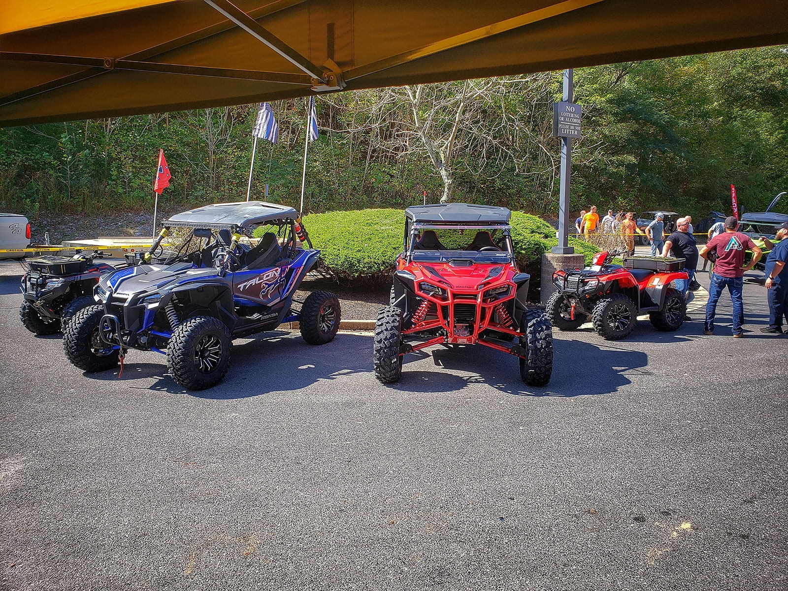 QuadBoss Lineup at Hatfield McCoy National Trailfest