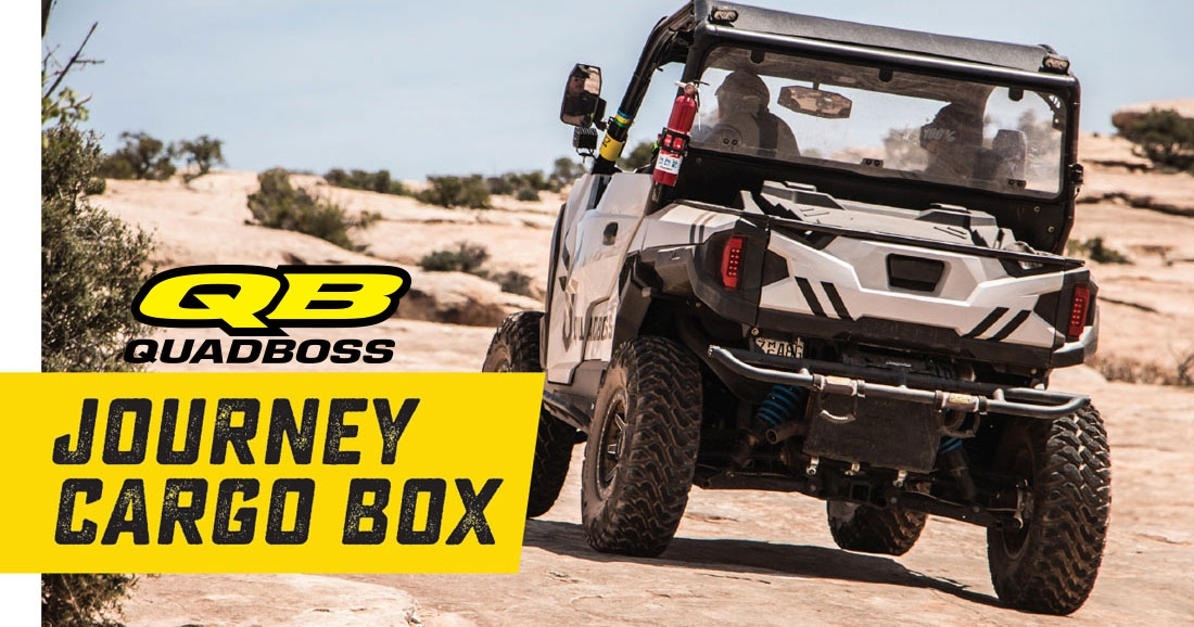 QuadBoss Journey Cargo Box
